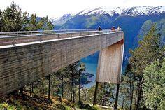 Stegastein - Lookout, Aurland, Norway by Todd Saunders and Tommie Wilhelmsen