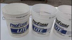 USING BUCKETS FOR FLOATING BEDS Acuaponia, filtro triple y camas de cultivo