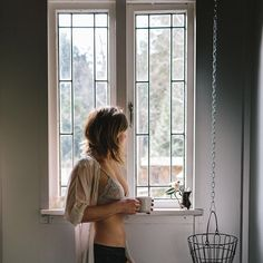 Maybe not the exact clothing (ha!) but I do like the delicacy and the light. It's very cozy and just screams intimacy.