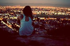 why do i sit alone? because i feel, more deeply than anyone understands. those that do, will sit beside me without a word.
