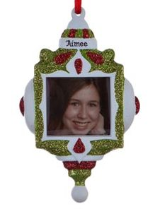 Buy Ornament Frame - Personalized Picture Frames, Picture Frame Ornaments at the Ornament Shop. Over 5000+ items.