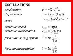 In mechanics and physics, simple harmonic motion is a type of periodic motion…