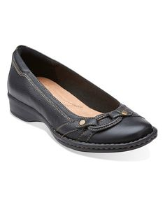 775ecd467daf Clarks Black Recent Alley Leather Flat. Comfortable FashionComfortable ShoesLeather  FlatsBlack LeatherWomens ...