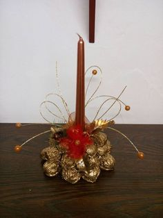 Homemade, Table Decorations, Home Decor, Xmas, Recycled Crafts, Bricolage Noel, Projects, Decoration Home, Home Made