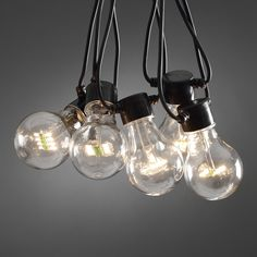 Circus Festoon Lights With 10 Warm White LEDs