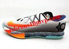 59acf0f4db0f Nike KD VI Galaxy Silver Orange Nike Tights