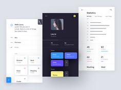 Some early design exploration for AI powered To-do app, helping you to focus on right tasks in right moment.