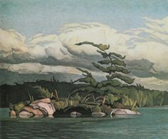Casson, Canadian Moose Lake, oil on board, x cm, private collection Group Of Seven Artists, Group Of Seven Paintings, Emily Carr, Tom Thomson, Canadian Painters, Canadian Artists, Landscape Art, Landscape Paintings, Oil Paintings
