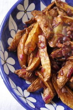 Pommes de terre à l'aigre douce au tamarin