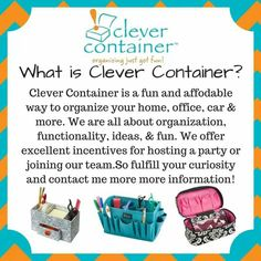 What is Clever Container www.clevercontainer.com/beckyl