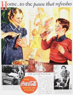 1930 Coca-Cola Advertisements | Vintage Coke/ Coca-Cola Advertisements of the 1930s (Page 2)