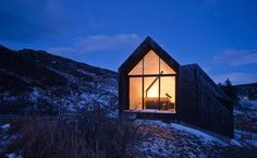 Full Gable Window of Black House at Camusdarach Sands by RAW