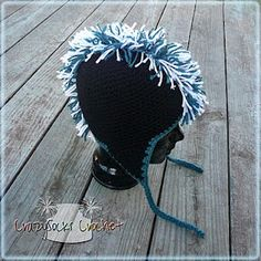 A Mohawk can be added to any crocheted or knit hat...here is a how to!