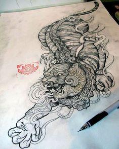 Forarm Tattoos, Asian Tattoos, Flash Art, Female, Leo, Tattoo, Tatoo, Lion