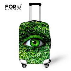 Novel 18-28inch Baggage Cover Elastic Big Eye Luggage Protective Dust Cover Stretch Waterproof Travel Suitcase Cover With Zipper