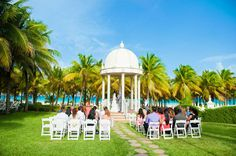 Pink and Coral Wedding at Riu Palace Rivera Maya - Destination Wedding: Mexico