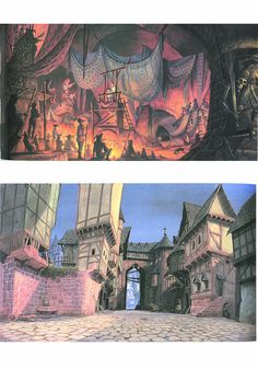 Hunchback of Notre Dame Layouts by tobor68, via Flickr