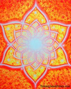 SACRAL CHAKRA Spiritual Painting.