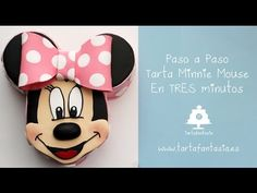 Tarta Minnie Mouse explicada en 3 minutos - YouTube