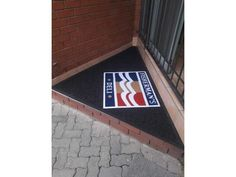 Branded Entrance Mats and Welcome mats | Marketing and Advertising | Findall Classifieds South Africa Entrance Mats, What To Sell, Free Classified Ads, Welcome Mats, Graphic Design Services, Creative Studio, Chicago Cubs Logo, Floor Mats, Custom Logos