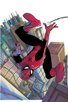 """COMIC: """"Spidey"""" ~ By Mike McKone _____________________________ Reposted by Dr. Veronica Lee, DNP (Depew/Buffalo, NY, US)"""