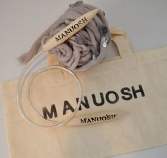 Manuosh Glam Giant Circular Knitting Needles: Size 50 by MANUOSH
