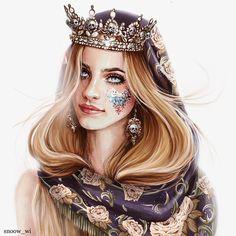 My Drawings, Princess Zelda, Snow, Artwork, Character, Fantasy, Fashion, Moda, Work Of Art