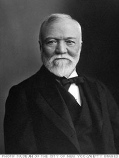 Andrew Carnegie was the founder of US Steel and one of the wealthiest men who ever lived. His true fame was his call on the rich to use their wealth to improve society, and stimulated wave after wave of philanthropy.