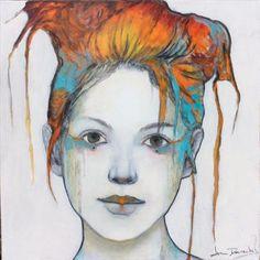 Scheila - Joan Dumouchel - Galerie d'art Iris, Baie-Saint-Paul - Charlevoix