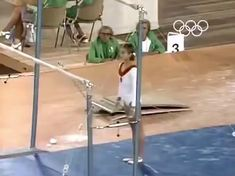 1972 Olympics gymnast The Korbut FlipYou can find Acrobatic gymnastics and more on our Olympics gymnast The Korbut Flip Flips Gymnastics, Funny Gymnastics Quotes, Gymnastics Room, Gymnastics Moves, Gymnastics Tricks, Tumbling Gymnastics, Gymnastics Flexibility, Amazing Gymnastics, Acrobatic Gymnastics