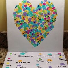 Class Art Projects For Auction | We did it!! Class Art Project! | Auction Ideas
