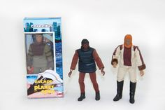 242. Set of 3 Planet of the Apes Mego dolls.