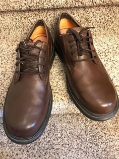 Mens Timberland Smart Comfort Work oxfords Casual Shoes sz 12  fashion   clothing  shoes cd7e498d2