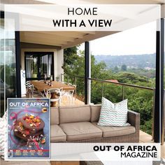 HOME WITH A VIEW  A beautiful home in the quiet residence of Borrowdale Brooke.  Be inspired by this classic contemporary style in OUT OF AFRICA Magazine - Make it Festive available at all leading retailers.  See more at http://ift.tt/1U6C1sm