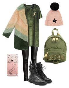 """Без названия #4"" by brinnyn-1 on Polyvore featuring мода, H&M, Giuseppe Zanotti, Lucky Brand и Moschino"
