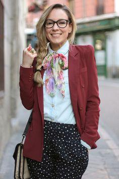 Queens Wardrobe blazer - romwe shirt - Friss & Company bag - Primark pants