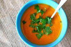 Coconut Curried Sweet Potato Soup
