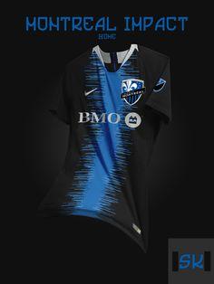 Tremendous - 48 Unique Nike MLS Concept Kits By Santi Kits - Footy Headlines Sport Shirt Design, Sports Jersey Design, Sport T Shirt, Retro Football, Football Kits, Football Jerseys, Mls Soccer, Major League Soccer, American League