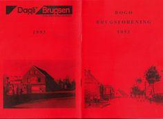 Bogø Brugsforenings jubilæumsskrift 1893-1993. Det stiftende møde fandt sted den 10. marts 1893 i Bogø Forsamlingshus.