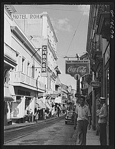 San Juan,año 1941,Puerto Rico.