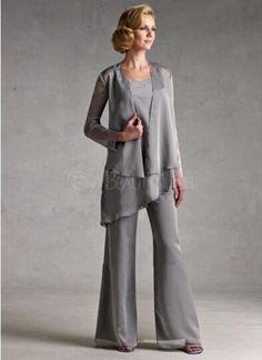 3 piece evening pant suits | Mother of the Bride Plus size ...