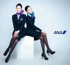 Stewardess Pantyhose, Airline Cabin Crew, Airline Uniforms, Female Pilot, Flight Attendant Life, Glam Dresses, Stockings Legs, These Girls, Asian Girl