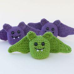 Instant Download Crochet Pattern - Little Amigurumi Bat
