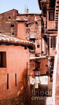 Narrow Streets of Albarracin - Weston Westmoreland