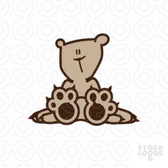 Exclusive Customizable Logo For Sale: Green Bear | StockLogos.com