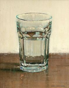 Glass of Water – Dianne Massey Dunbar – www.diannemasseyd… Glass of Water – Dianne Massey Dunbar – www. Painting Still Life, Still Life Art, Painting Inspiration, Art Inspo, Guache, Anatomy Art, Contemporary Abstract Art, Art Graphique, Glass Art
