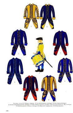 Swedish; Trumpeters & Drummers, Great Northern War