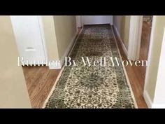 Runner By Well Woven || Timeless, Elegance, Quality and Value Is What You'll Get With This Runner - YouTube