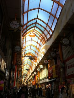 Before Broadway by s.a.young, via Flickr - This is the long shopping arcade before Nakano Broadway, Nakano, Tokyo, Japan. There are some great stores in both the arcade and the building at the end, especially for otaku.