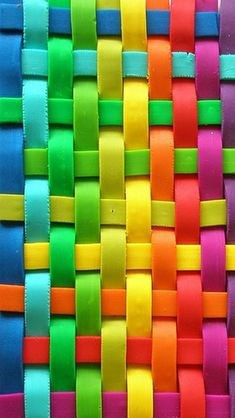 colors.quenalbertini: Colorful Woven Lines HD iPhone Wallpaper